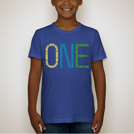 ONE T-Shirt Lapis
